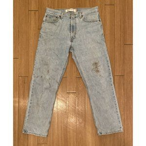Levi's Faded Distressed Jeans Early 2000's Regular